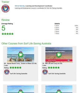 SLSA Skills Maintenance refresher courses